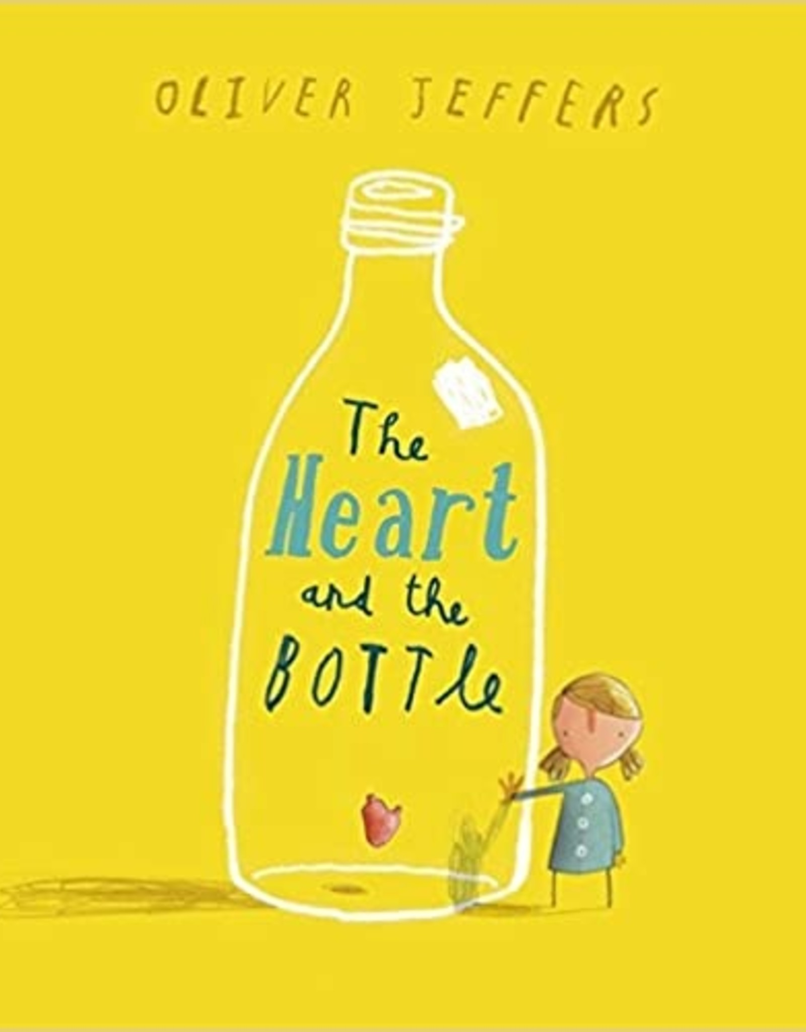 harper collins The Heart and the Bottle Oliver Jeffers