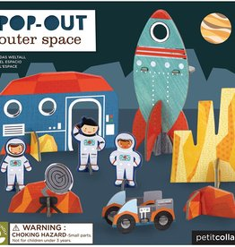 Petit Collage PTC119 PO-Space Pop Out