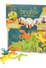 Jiminy Eco Toys Binabo flexible construction strips made of wood and sugar Size: 24 chips in compostable bag