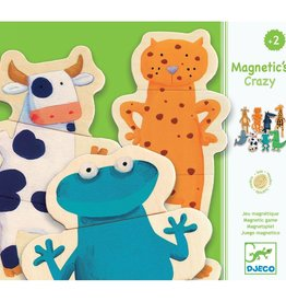 Djeco Wooden Magnetic - Crazy