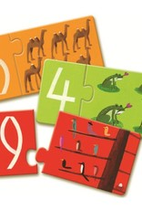 Djeco Puzzle Duo - Numbers