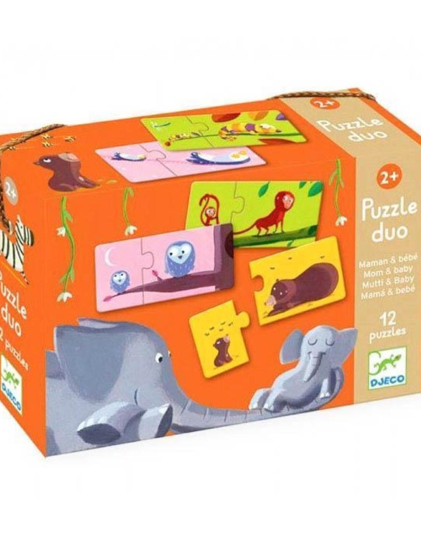 Djeco Puzzle Duo - Mom & Baby