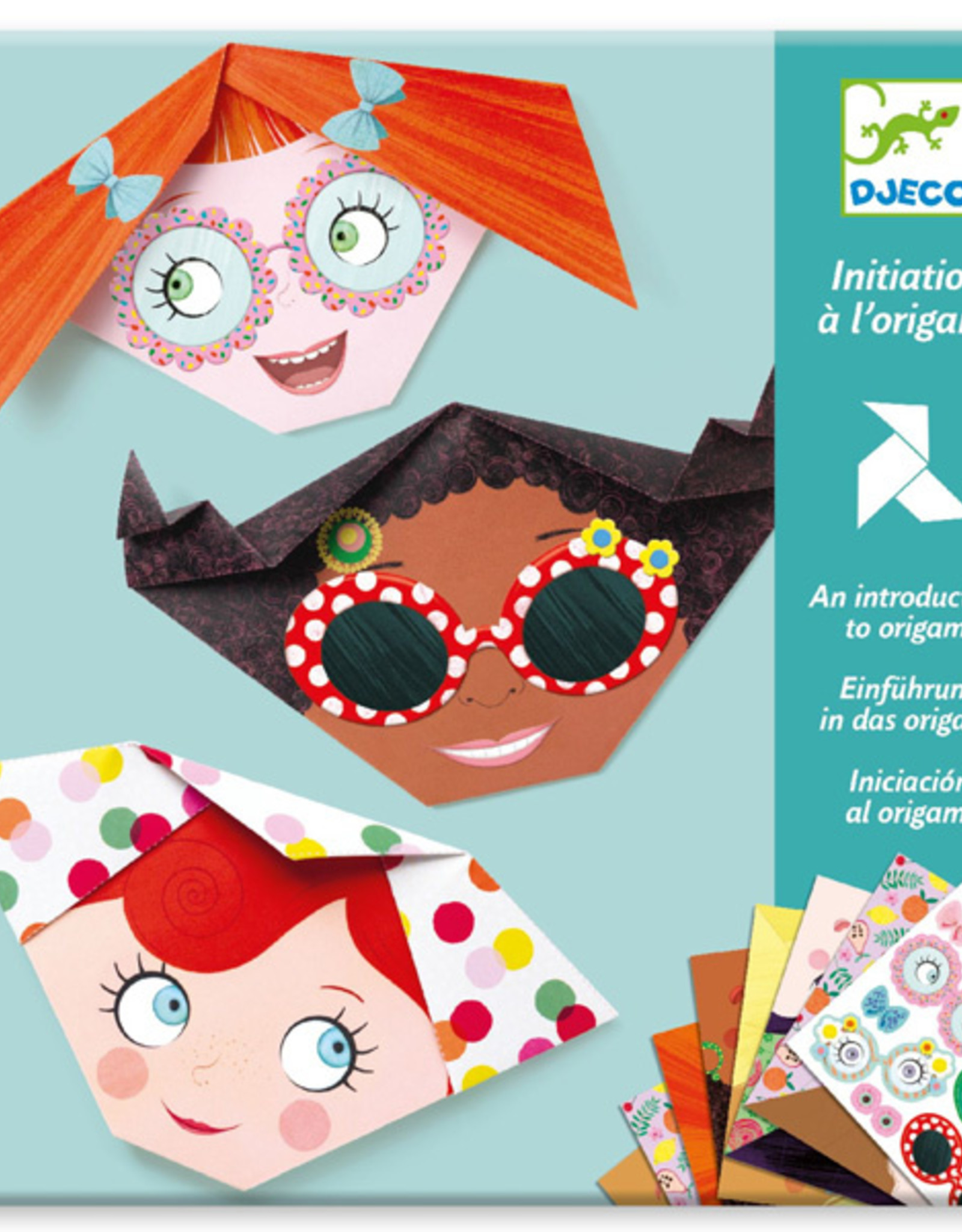 Djeco Origami - pretty faces