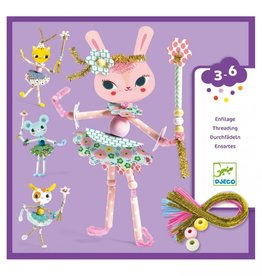 Djeco Lace-up cards- My fairies