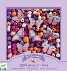 Djeco Wooden Beads - Butterflies