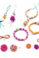 Djeco Oh! Les perles - Beads and figurines