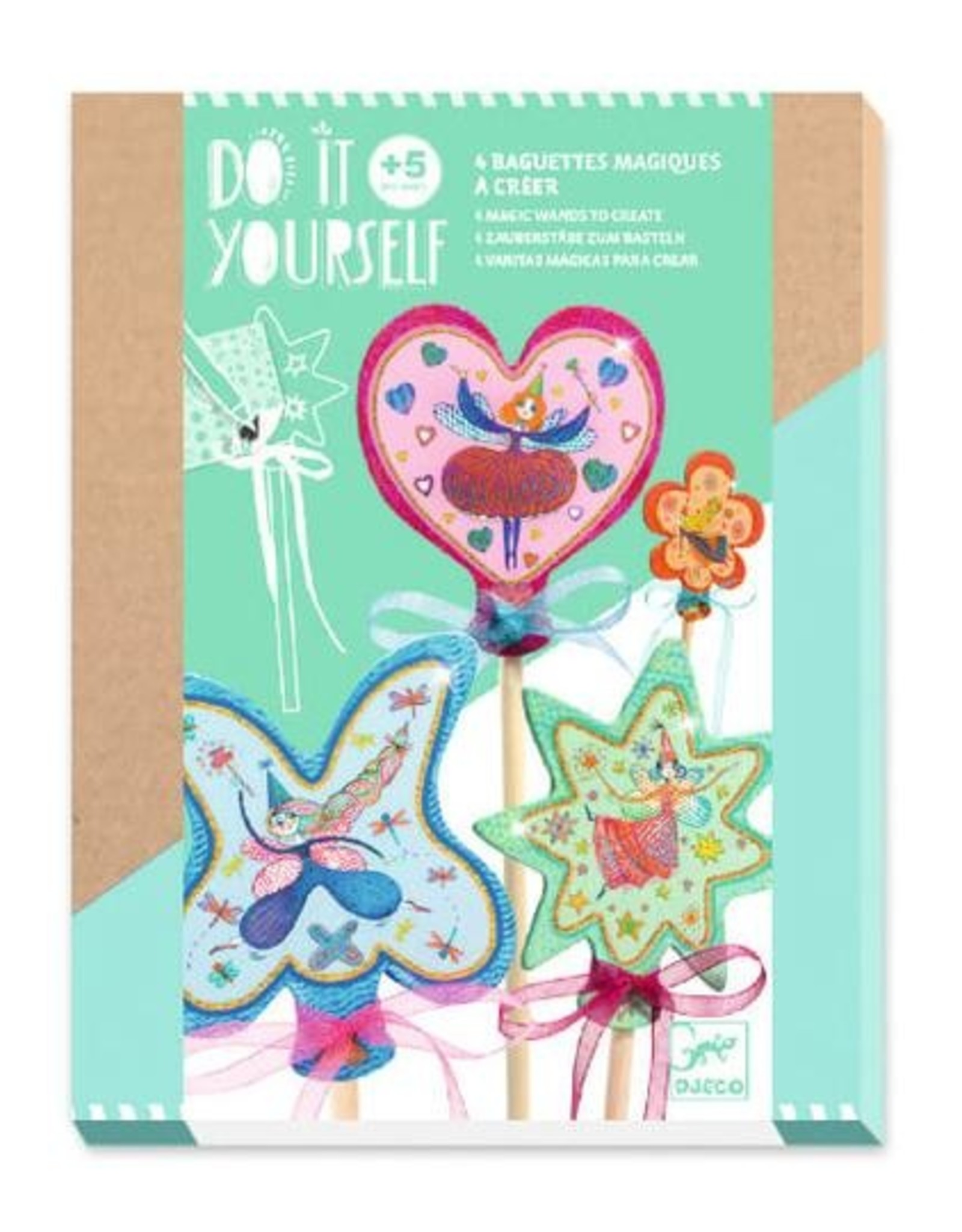 Djeco DIY Magic Wands - Little Fairies