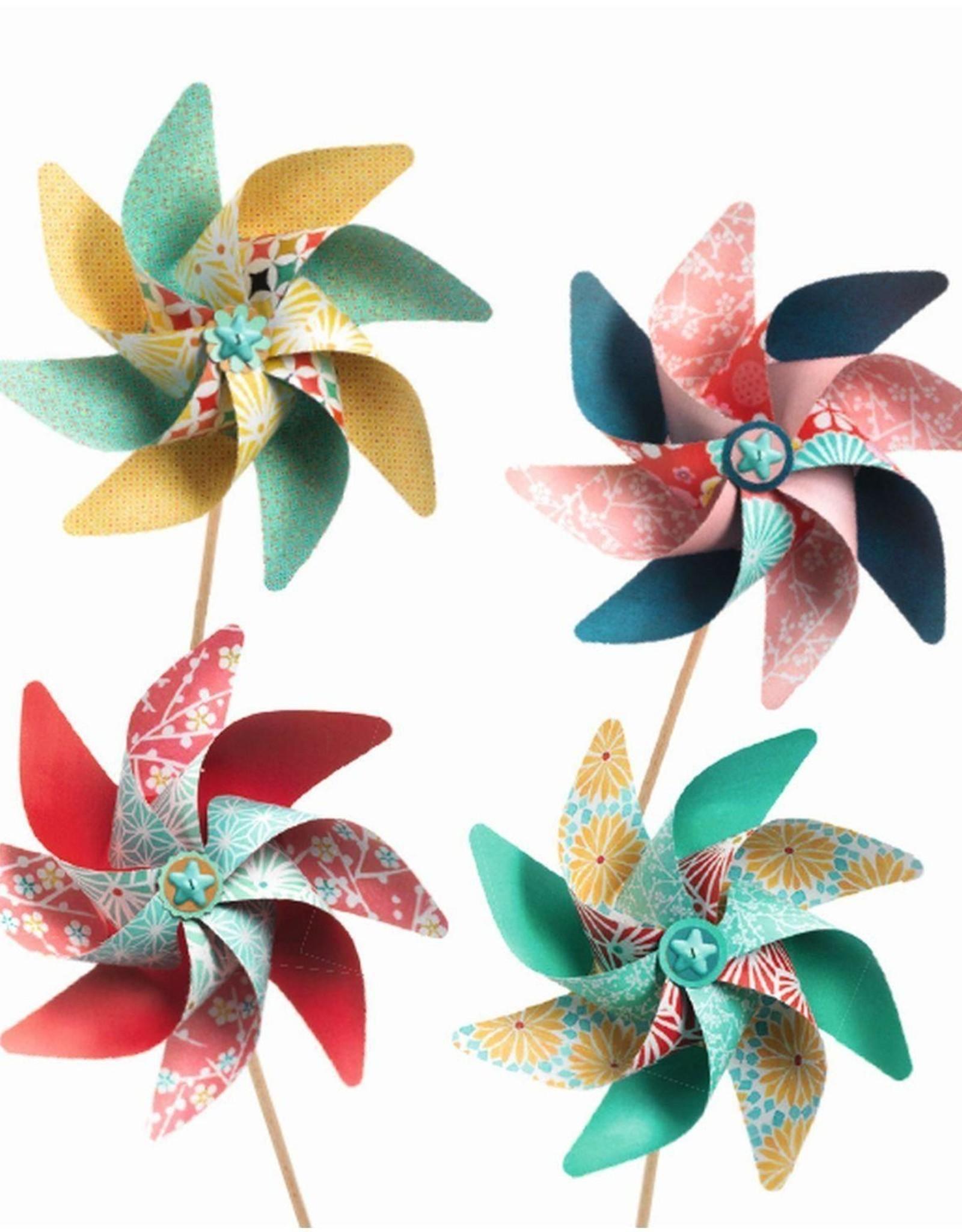 Djeco DIY Pinwheels - Sweet