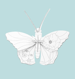 Studioroof 3D Eco Toy DIY Butterfly