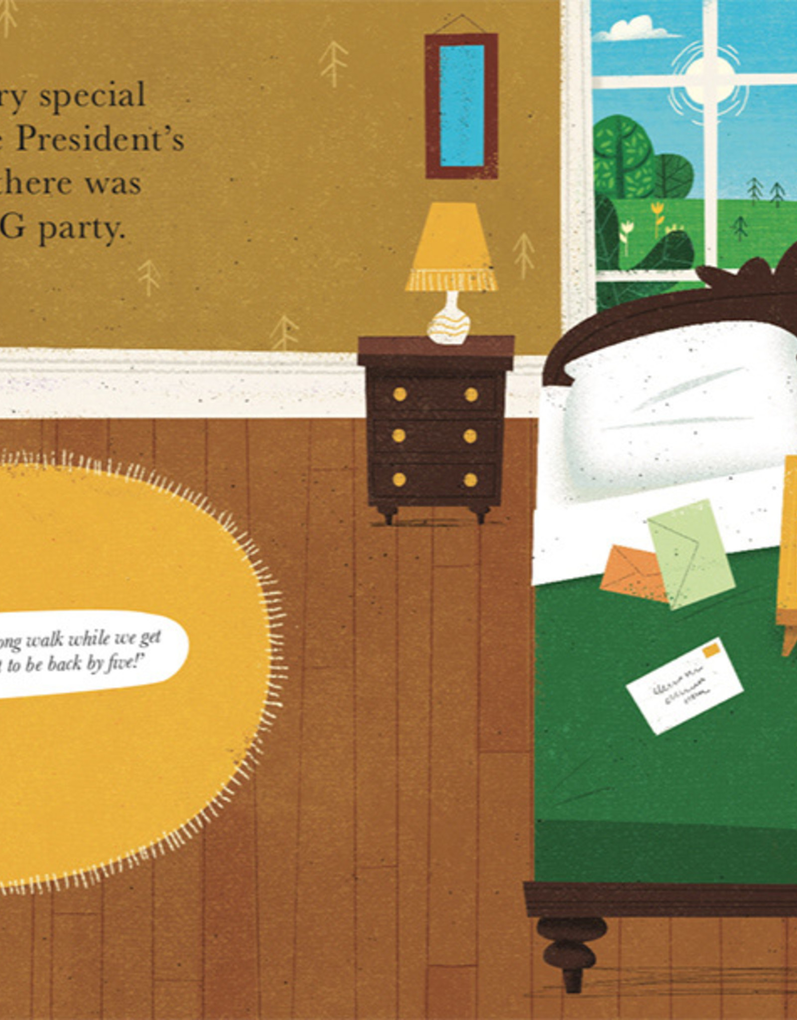 Gill Books The President's Surprise - Peter Donnelly (hardback)