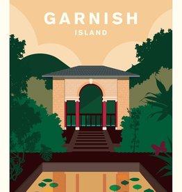 Hurrah Hurrah Hurrah Hurrah Print Garnish Island