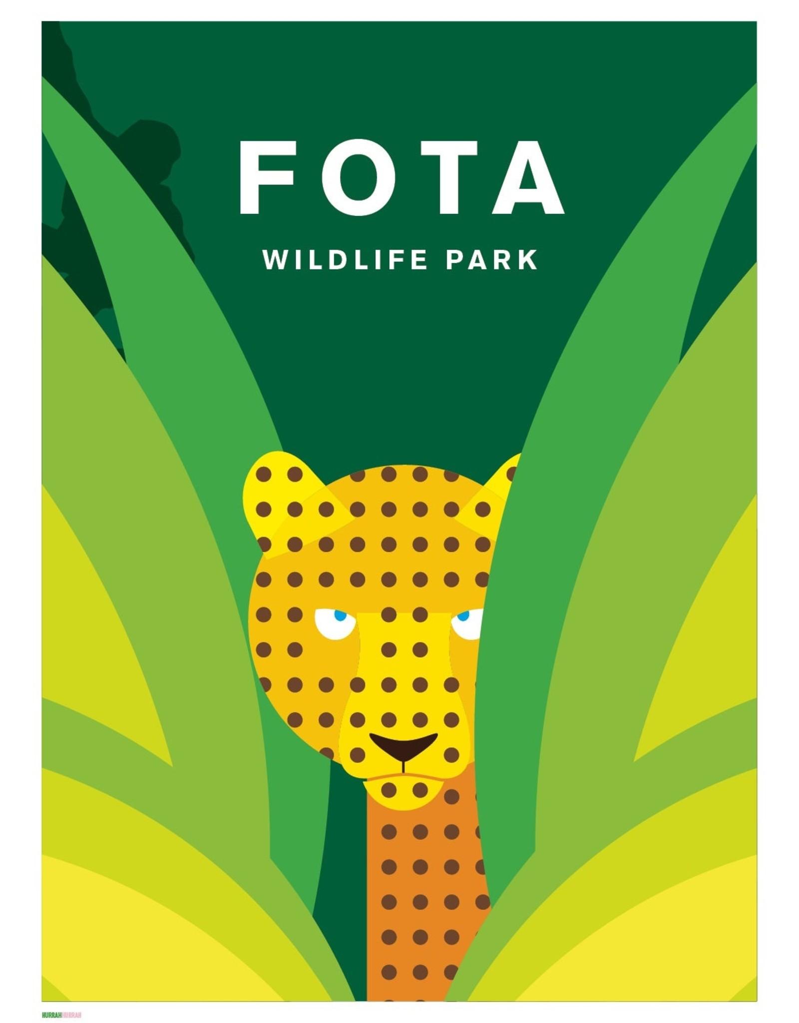 Hurrah Hurrah Hurrah Hurrah Print Fota Wildlife Park