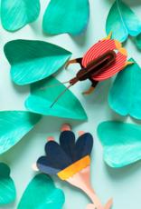 Studioroof Wall Decor Violin Beetle (small)