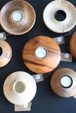 Coppiceworks Wooden tea lights candle holder