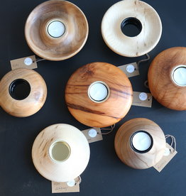 Coppiceworks Wooden tea lights candle holder