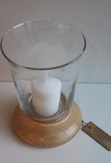 Coppiceworks Hurricane Lamps with candle