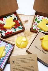 Ireland Beeswax Wraps Christmas DIY Beeswax Wrap Kit