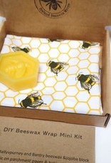 Ireland Beeswax Wraps DIY Bee mini Kit
