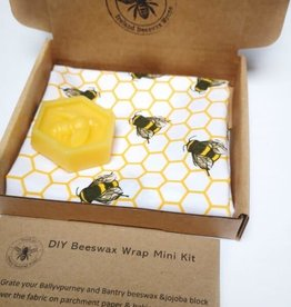 Ireland Beeswax Wraps DIY Bee mini Kit