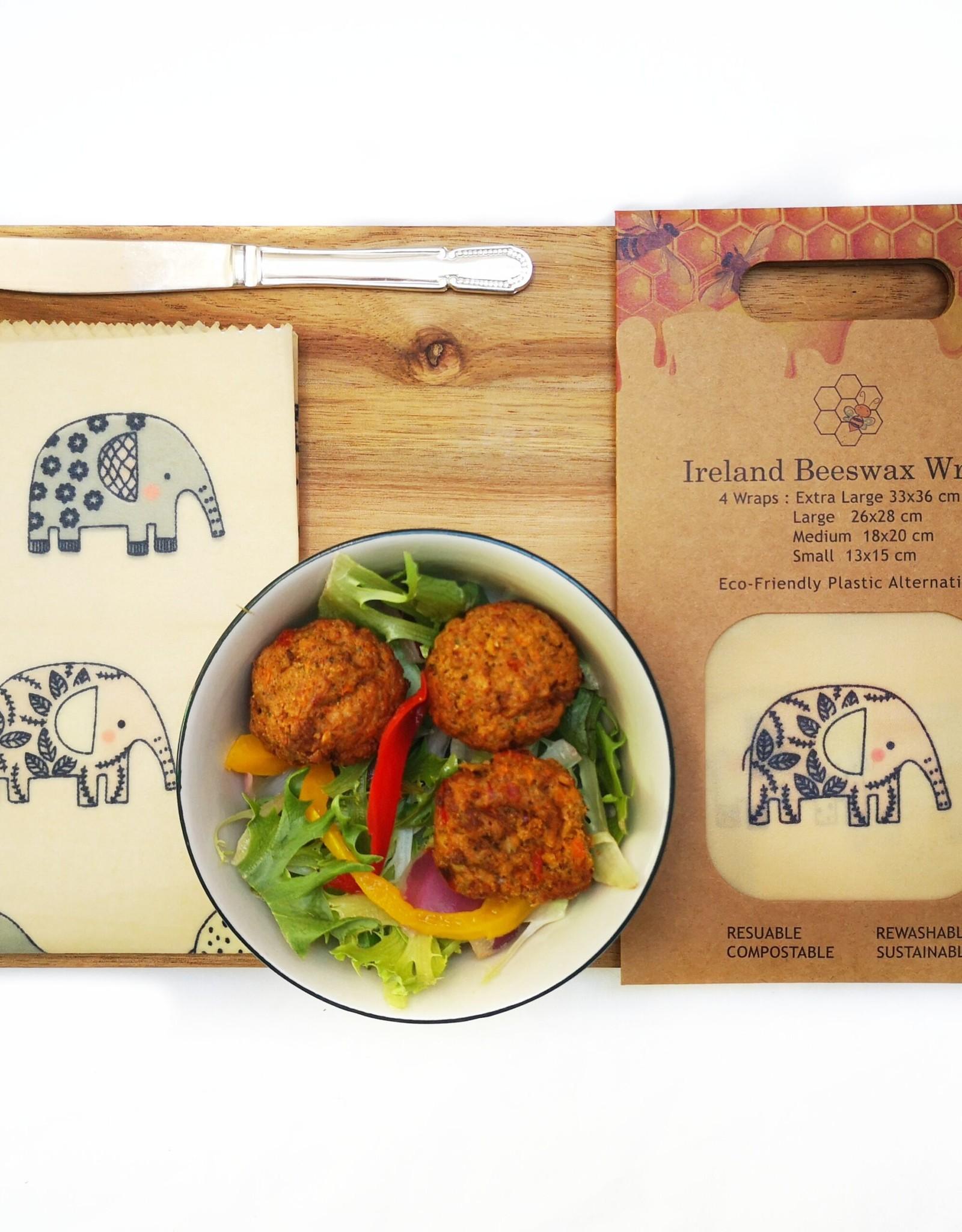 Ireland Beeswax Wraps Ireland Beeswax Wraps 4 pack