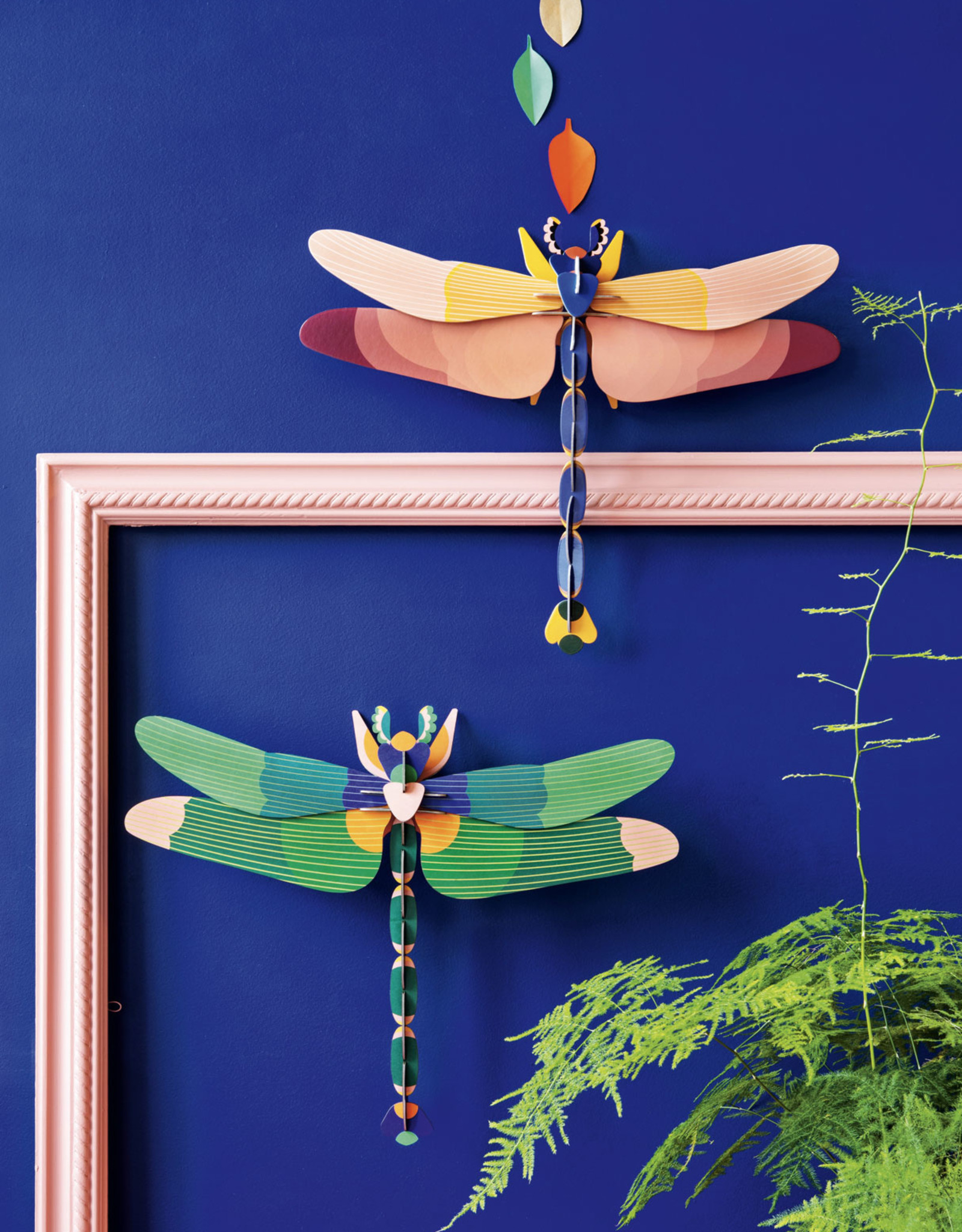 Studioroof Wall Decor Green Dragonfly