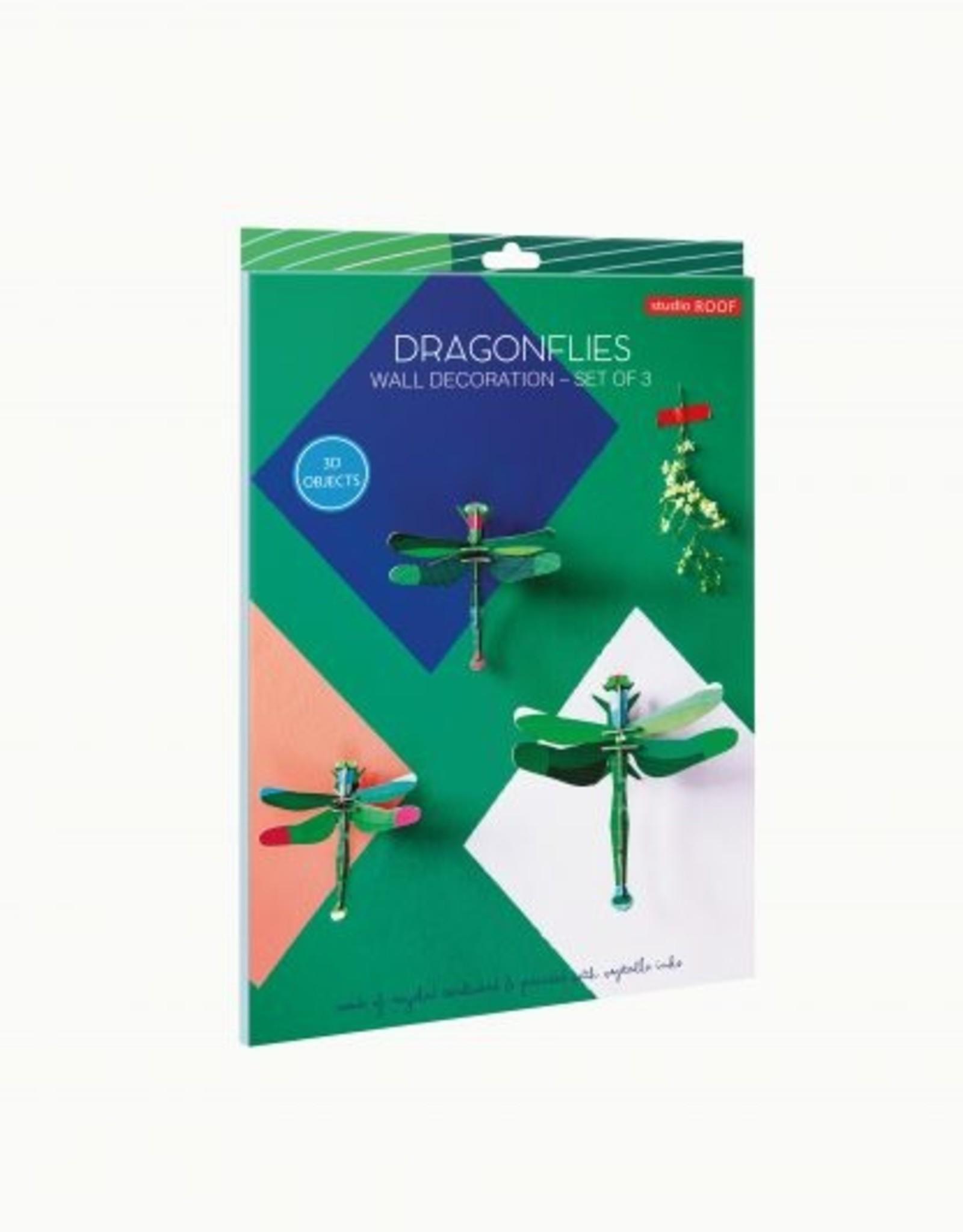 Studioroof Set of 3 - Dragonflies