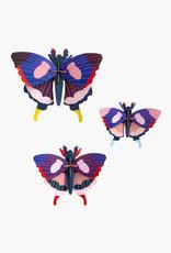 Studioroof Set of 3 - Swallowtail butterflies
