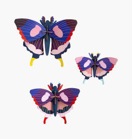 Studioroof Set of 3 - Swallowtail butterflies