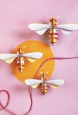 Studioroof Wall Decor Set of 3 Honey Bees