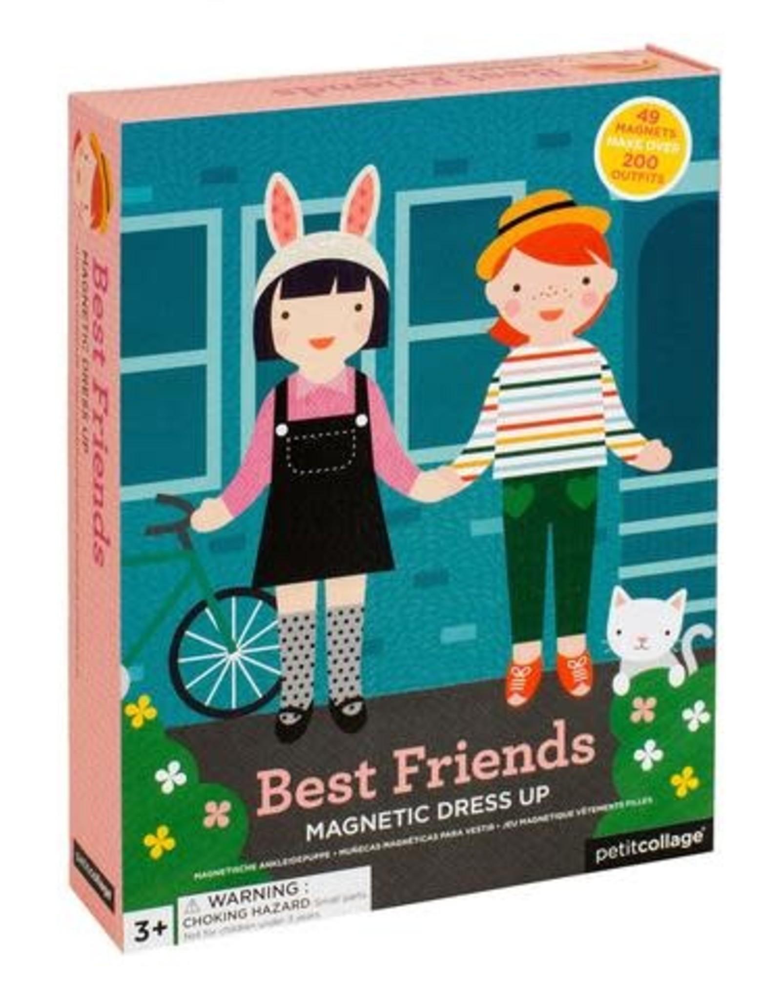 Petit Collage PTC105 Magnetic Dress Up - Best Friends