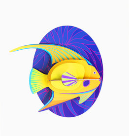 Studioroof Big Fishes- Yellow Angelfish