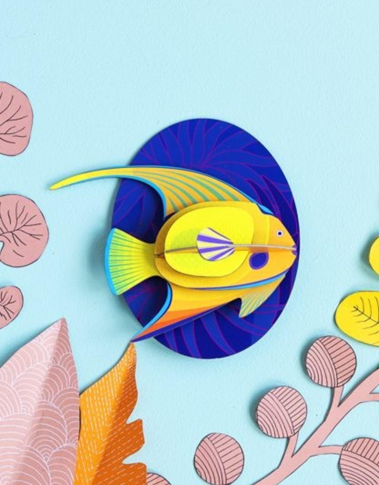 Studioroof Wall Decor Yellow Angelfish