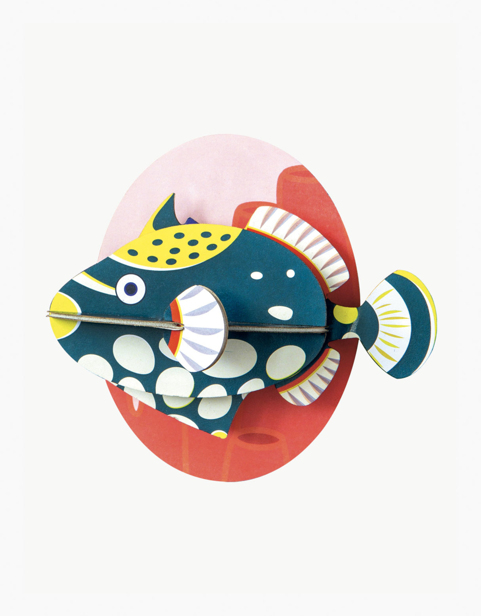 Studioroof Sea animals- Clown Tiggerfish