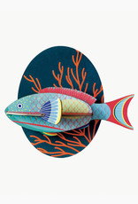 Studioroof Wall Decor Parrot Fish (small)