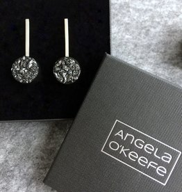 Angela O'Keefe AOK 10 Sphere drop earrings