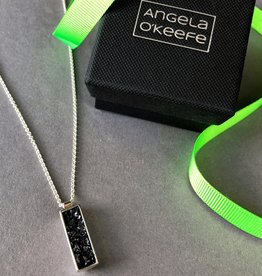 Angela O'Keefe AOK 3 Rectangle pendant