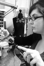 Angela O'Keefe AOK 1  V necklace & 50mm pendant