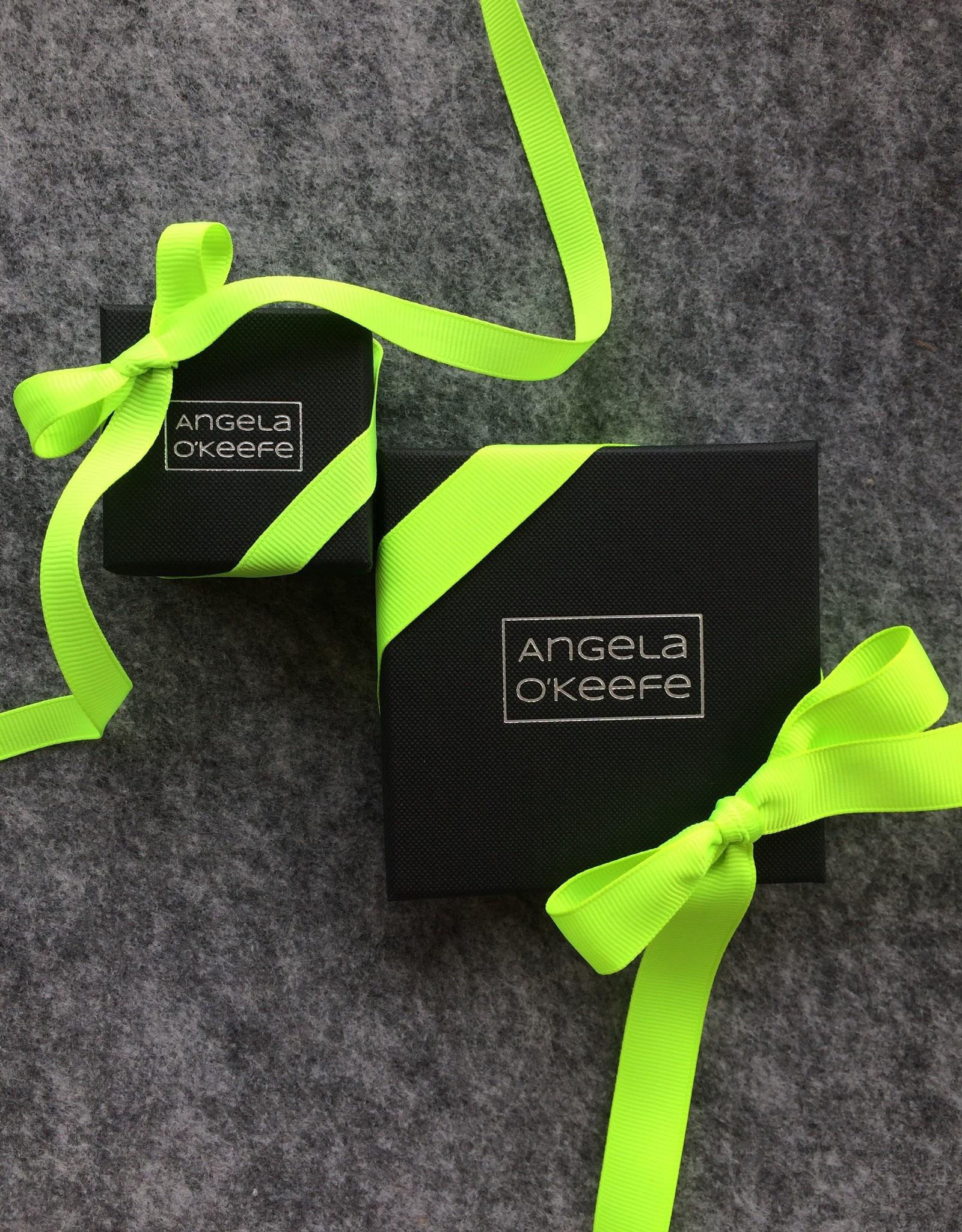 Angela O'Keefe AOK 12 Vertical drop earrings (wide)