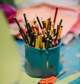 I ❤️  Drawing: Valentine's Day art workshop