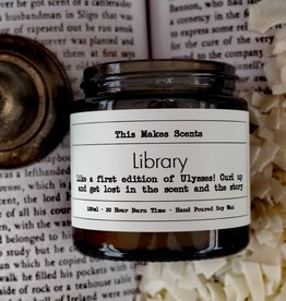 This Makes Scents Library - 120ml Candle