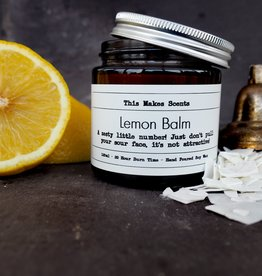 This Makes Scents Lemon Balm - 120ml Candle