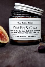 This Makes Scents Wild Fig & Cassis -120ml Candle