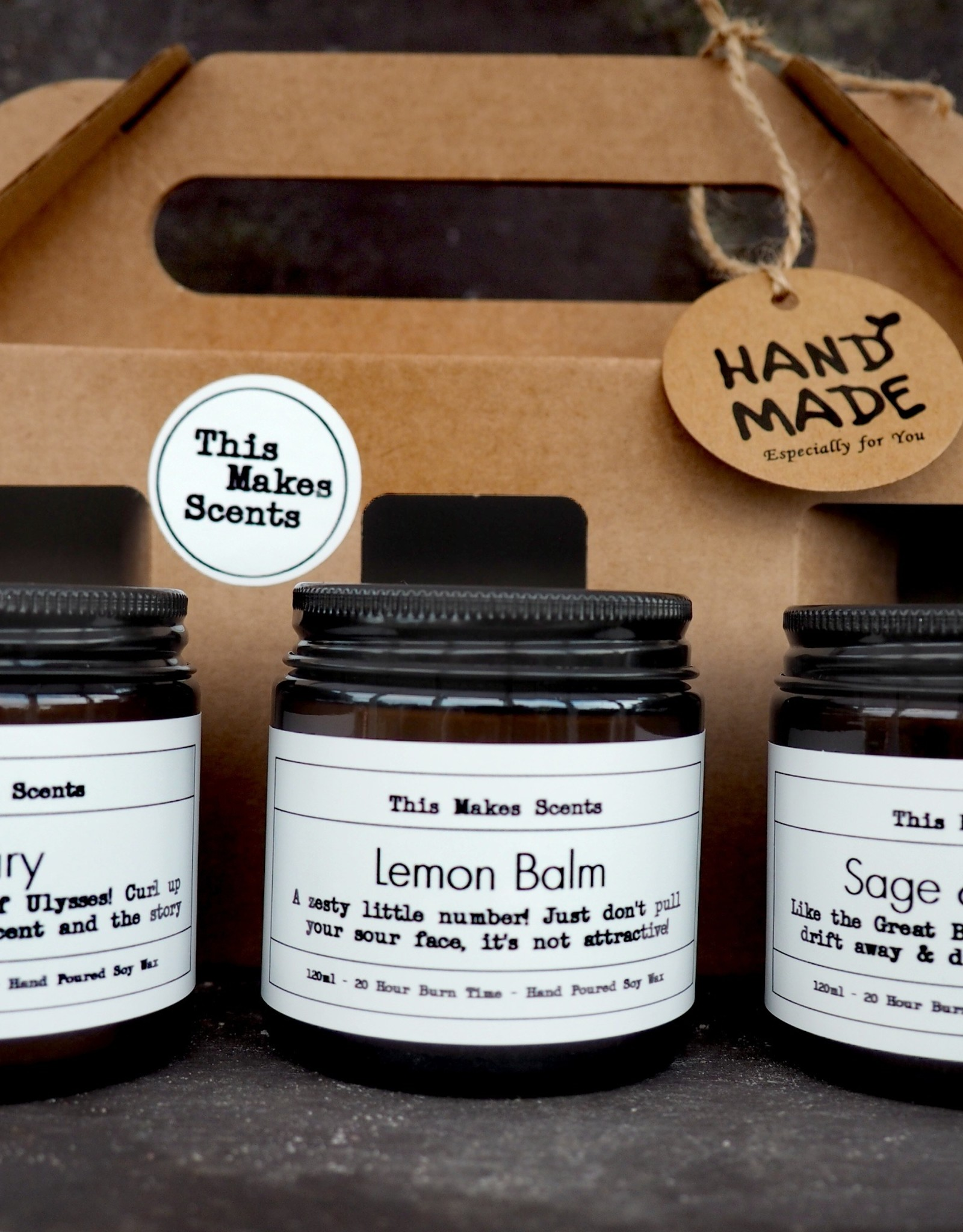 This Makes Scents Home Office Collection Gift Set