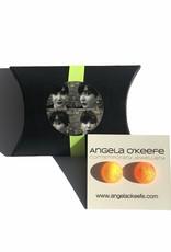 Angela O'Keefe AOK 23 Graffiti Studs Orange / Yellow Mix