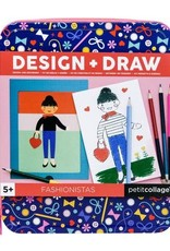 Petit Collage PTC263 TD-Fashionistas Design and Draw