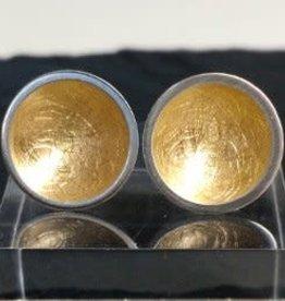 Ariane Tobin AT015 Sentinel earrings w/ 18ct gold plating