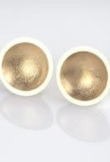 Ariane Tobin AT021 sentinel earrings w/ rose gold plating