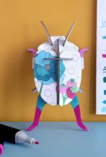 Studioroof 3D Eco Toy DIY Lady Beetle
