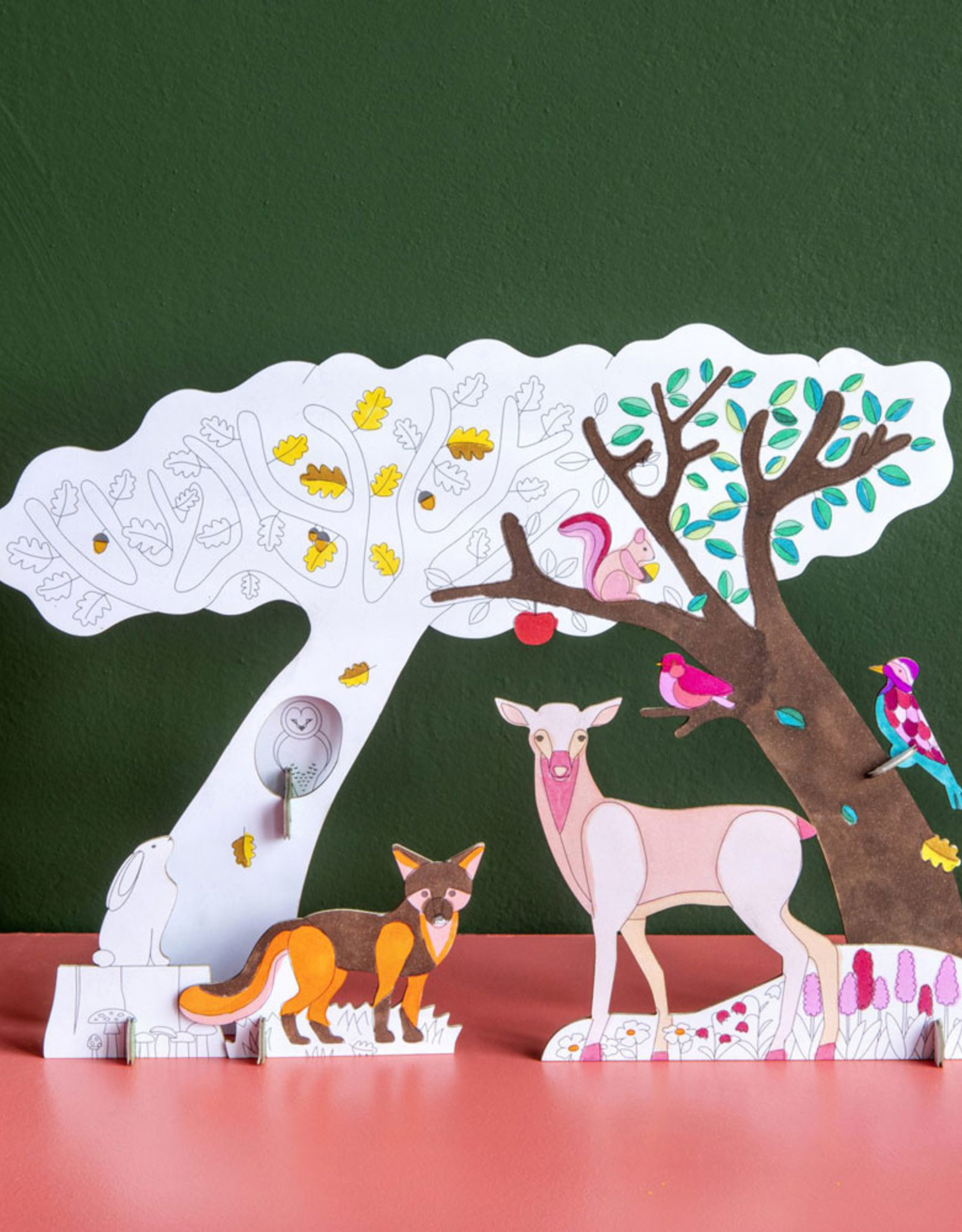 Studioroof 3D Eco Toy Forest Story