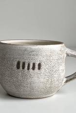 Magda Bethani MBC/MRWD Round Mug White with dots